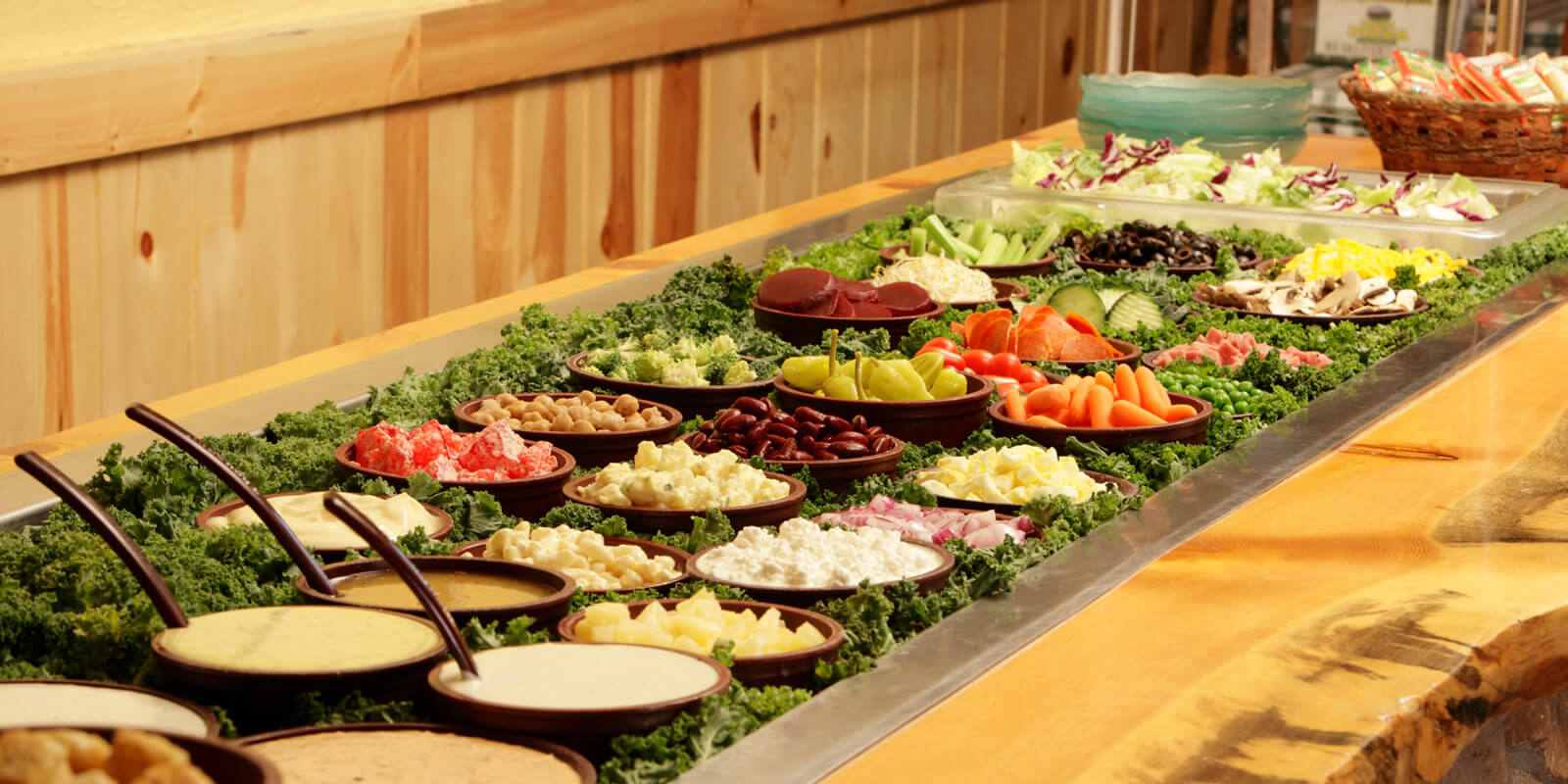 Salad bar ideas images galleries with for Salas ideas